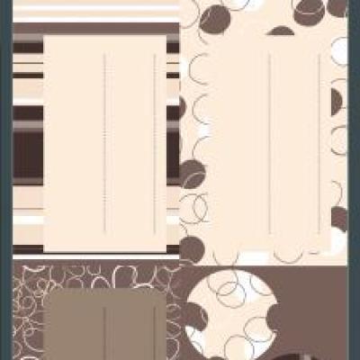 Étiquette cadeau: Chocolat (x24) REF/N.617007C