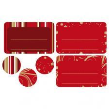 Étiquette cadeau: Hiver doré (x24) REF/N.617010C
