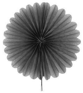 Éventail gris, 20cm (x2) REF/4559