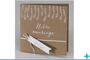 Faire part de mariage personnalisable
