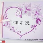 Faire-part mariage: Orchidée (x1) REF/10409