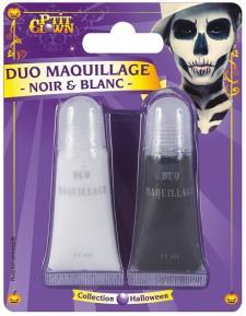Maquillage: Fard gras noir et blanc (x2) REF/14500