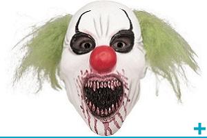 Fete halloween avec theme sur clown