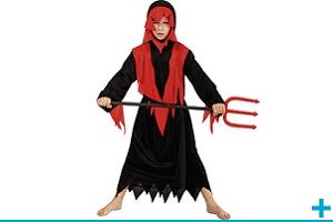 Fete halloween avec theme sur diable et diablesse