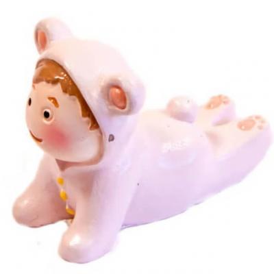 Figurine bébé fantaisie fille (x2) REF/RES694CF