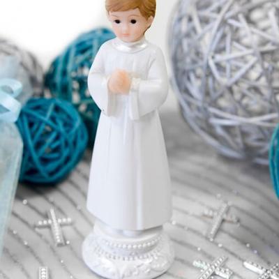 Figurine garçon communiant (x1) REF/RES876G