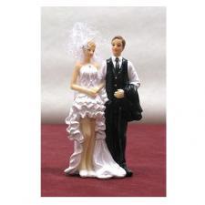 Figurine mariage N°1: Robe courte (x1) REF/SUJ4937