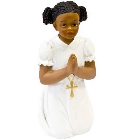 Figurine en resine communion fille