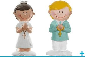 Figurine et sujet en resine communion