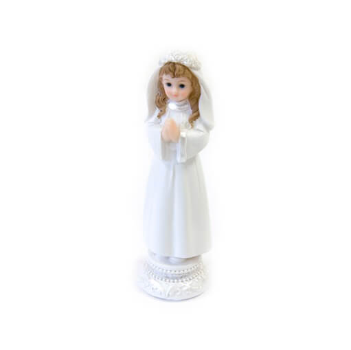 Figurine fille communiante