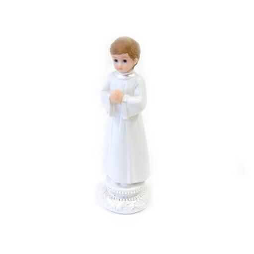 Figurine garcon communiant