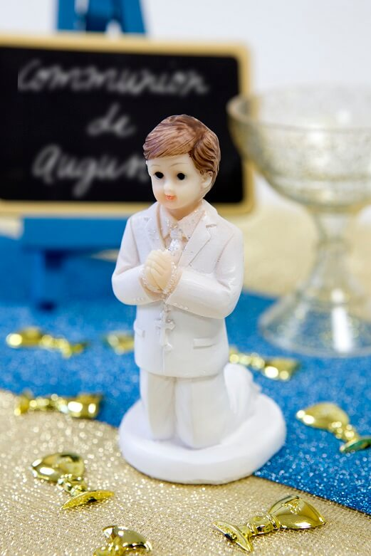 Figurine garcon communion 2