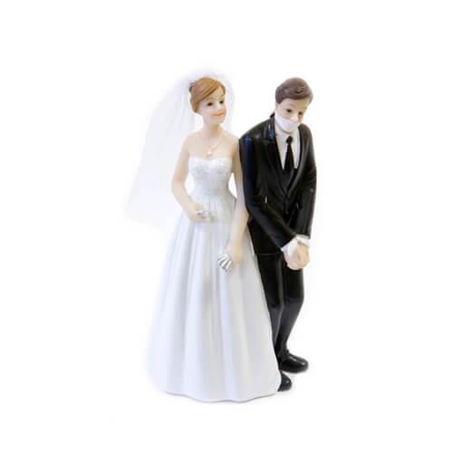 Figurine mariage couple de maries 3