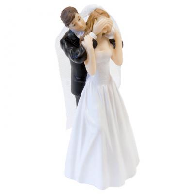 Figurine mariage couple de mariés: Surprise (x1) REF/SUJ4970