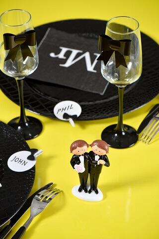Figurine mariage mr et mr 1