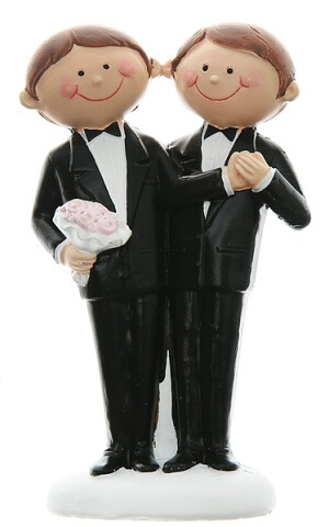 Figurine mariage mr et mr