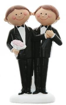 Figurine mariage: Mr & Mr (x1) REF/4939