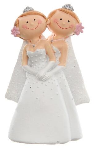 Figurine mariage mrs et mrs