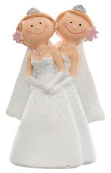 Figurine mariage: Mrs & Mrs (x1) REF/4938