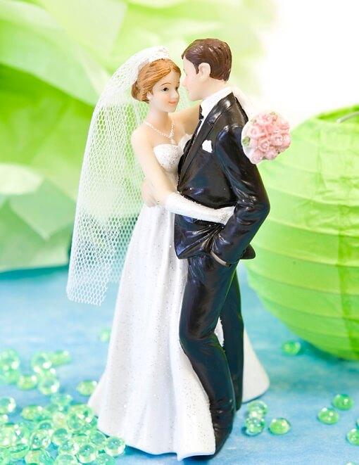 Figurine mariage pour wedding cake