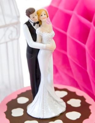 Figurine mariage: Tourbillonnant (x1) REF/SUJ4963