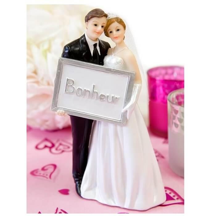 Figurine pour gateau des maries 1
