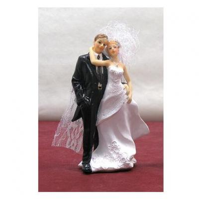 Figurine mariage N°2: Robe longue (x1) REF/SUJ4937