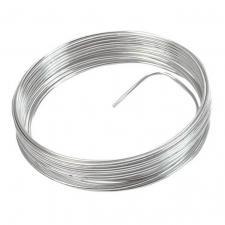 Fil métallique argent 2mm x 5m (x1) REF/3387