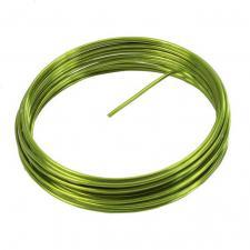 Fil métallique vert 2mm x 5m (x1) REF/3387
