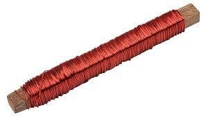 Bâton de fil métallique rouge (x1) REF/3388