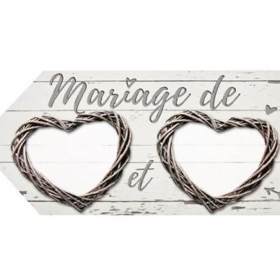 Flèche directionnelle mariage: Romantica (x1) REF/DEC809
