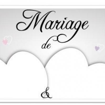 Flèche directionnelle mariage (x1) REF/PSM00