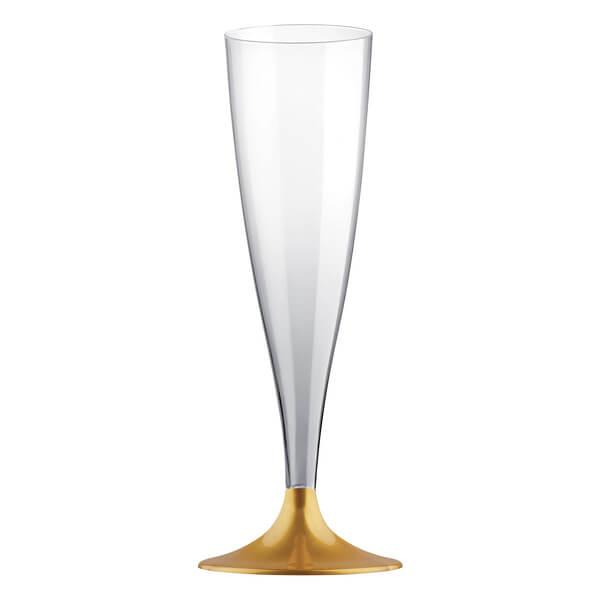 Flute doree 14cl en plastique