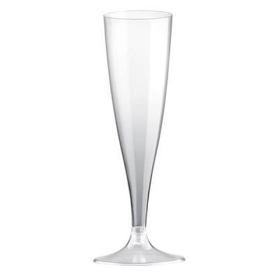 Flûte transparente 140ml (x10) REF/57597