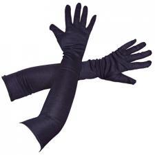 Gants longs noir, 56cm (x1) REF/39300