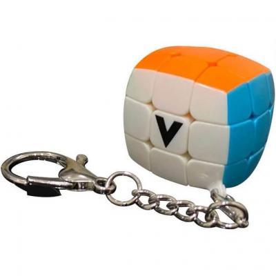 Jeu casse-tête V-cube 3x3 bombé en porte clé (x1) REF/VCPB