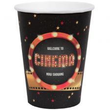 Gobelet cinéma en carton (x10) REF/6633