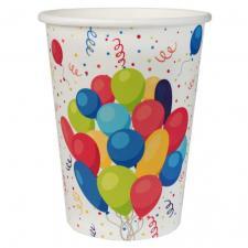 Gobelet anniversaire Arlequin (x10) REF/6189