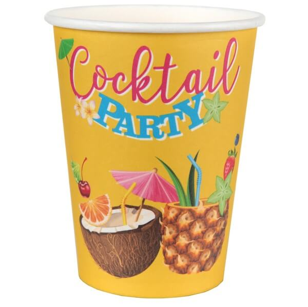 Gobelet cocktail tropical