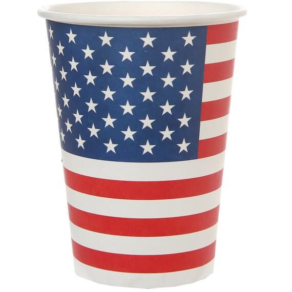 Gobelet en carton amerique usa