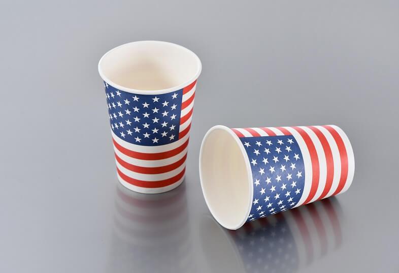 Gobelet usa amerique en carton
