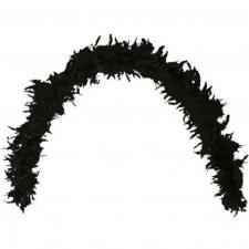 Grand Boa noir en plumes pour votre fête de 180cm (x1) REF/21601