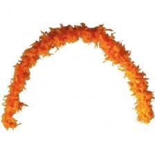 Grand Boa orange en plumes pour votre fête de 180cm (x1) REF/21605