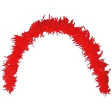Grand Boa rouge en plumes pour votre fête de 180cm (x1) REF/21602