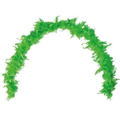Grand Boa vert en plumes pour votre fête de 180cm (x1) REF/21607