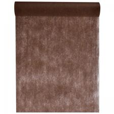 Chemin de table in tissé chocolat 60cm x 10m (x1) REF/2810