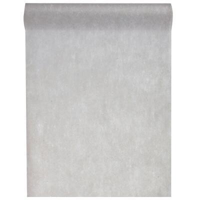 Chemin de table in tissé gris 60cm x 10m (x1) REF/2810