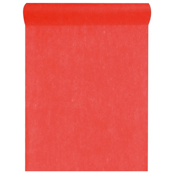 Grand chemin de table in tisse rouge 60cm x 10m