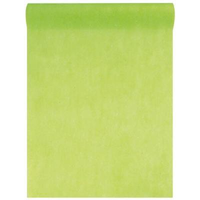 Chemin de table in tissé vert 60cm x 10m (x1) REF/2810