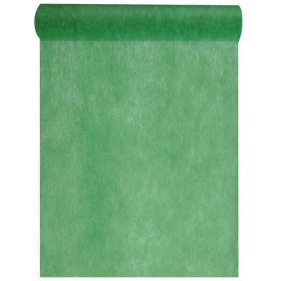 Chemin de table in tissé vert sapin 60cm x 10m (x1) REF/2810